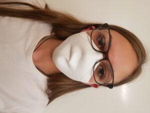 Skinwear lance des masques antimicrobiens en tissu tricoté sans coutures