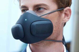 <div>Le purificateur intelligent portable ATMOBLUE fournit de l'air purifié à 99,9%</div>