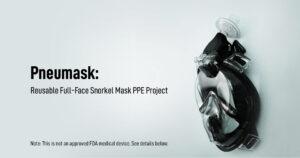 Pneumask : Projet EPI de masque de plongée intégral réutilisable