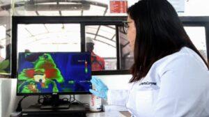 Puerto Coronel installe les premières caméras thermiques des ports chiliens