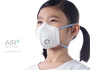 Air+ Smart Mask : masque facial ergonomique avec système de micro-ventilateurs