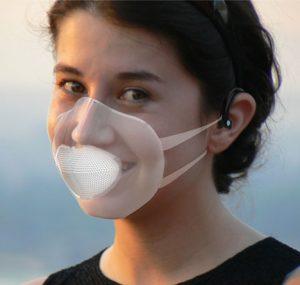 Bluemask : Masque de protection contre le smog avec Bluetooth