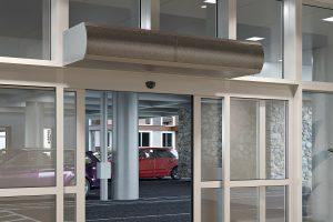 Un rideau d'air tue le COVID à l'entrée d'une porte grâce à l'ionisation