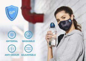Carrington lance un masque à traitement antimicrobien