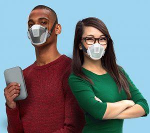 Le masque de protection modulaire Conceptual M-101 est axé sur la santé