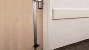 L'ouvre-porte sans contact SafeZone peut être activé avec votre pied