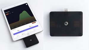 Scan Kiosk : thermomètre sans contact Bluetooth 5 pour iPhone et iPad