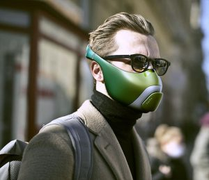 "Le concept de masque facial ""Hoito"" pulvérise des médicaments sans contact"