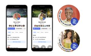 Facebook lance de nouveaux autocollants pour encourager la vaccination contre le COVID-19 sur Instagram, Facebook et WhatsApp
