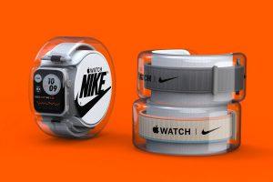 Ce concept d'emballage Apple Watch x Nike vous permet de mélanger et d'assortir les bracelets sans les toucher !