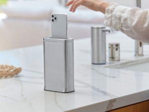 simplehuman cleanstation smartphone nettoie votre téléphone en 30 secondes