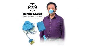Le masque ionique piège et tue les agents pathogènes en suspension dans l'air grâce aux rayons UV.