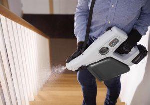 Un nouveau pulvérisateur révolutionnaire transforme instantanément l'eau salée en un puissant désinfectant.