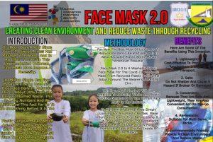 Le masque facial innovant des étudiants de Ranau remporte des concours internationaux