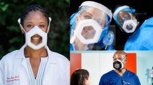 Un prix pour une nouvelle conception du masque facial.